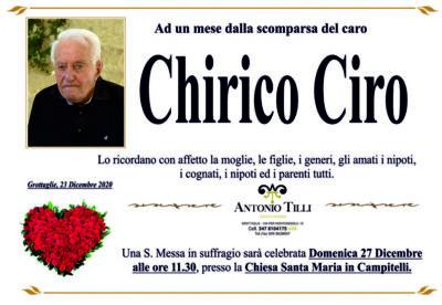 Chirico trigesimo