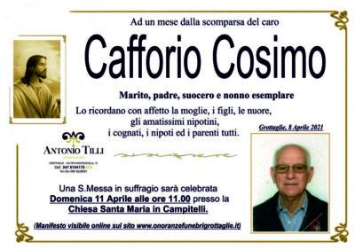 Cafforio trigesimo