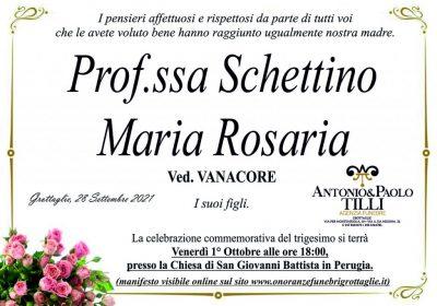 Trigesimo Schettino